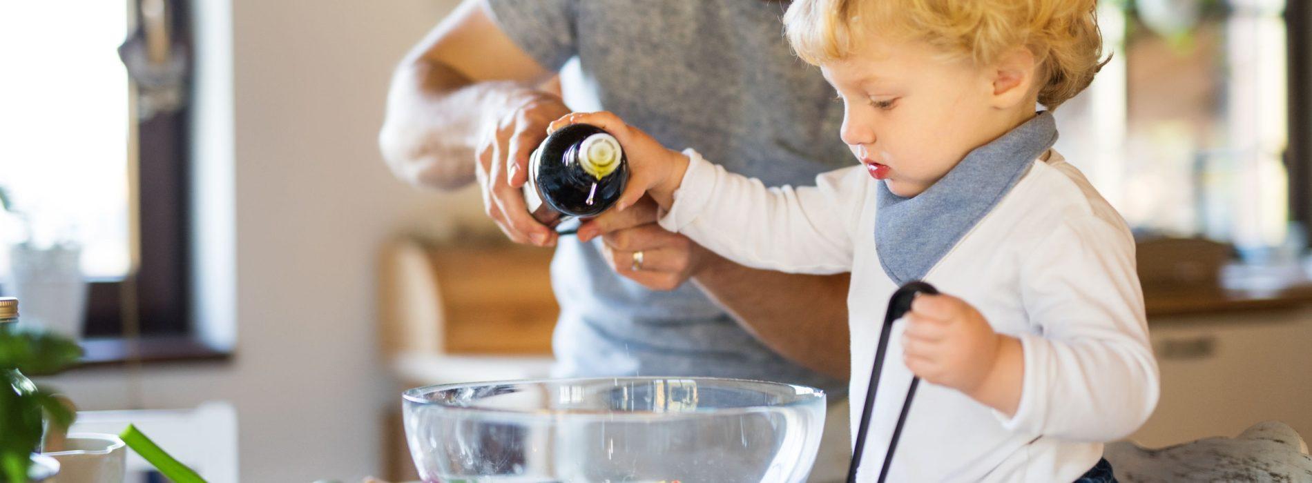 Olej rzepakowy dla niemowląt – Rola tłuszczy w diecie niemowlęcia
