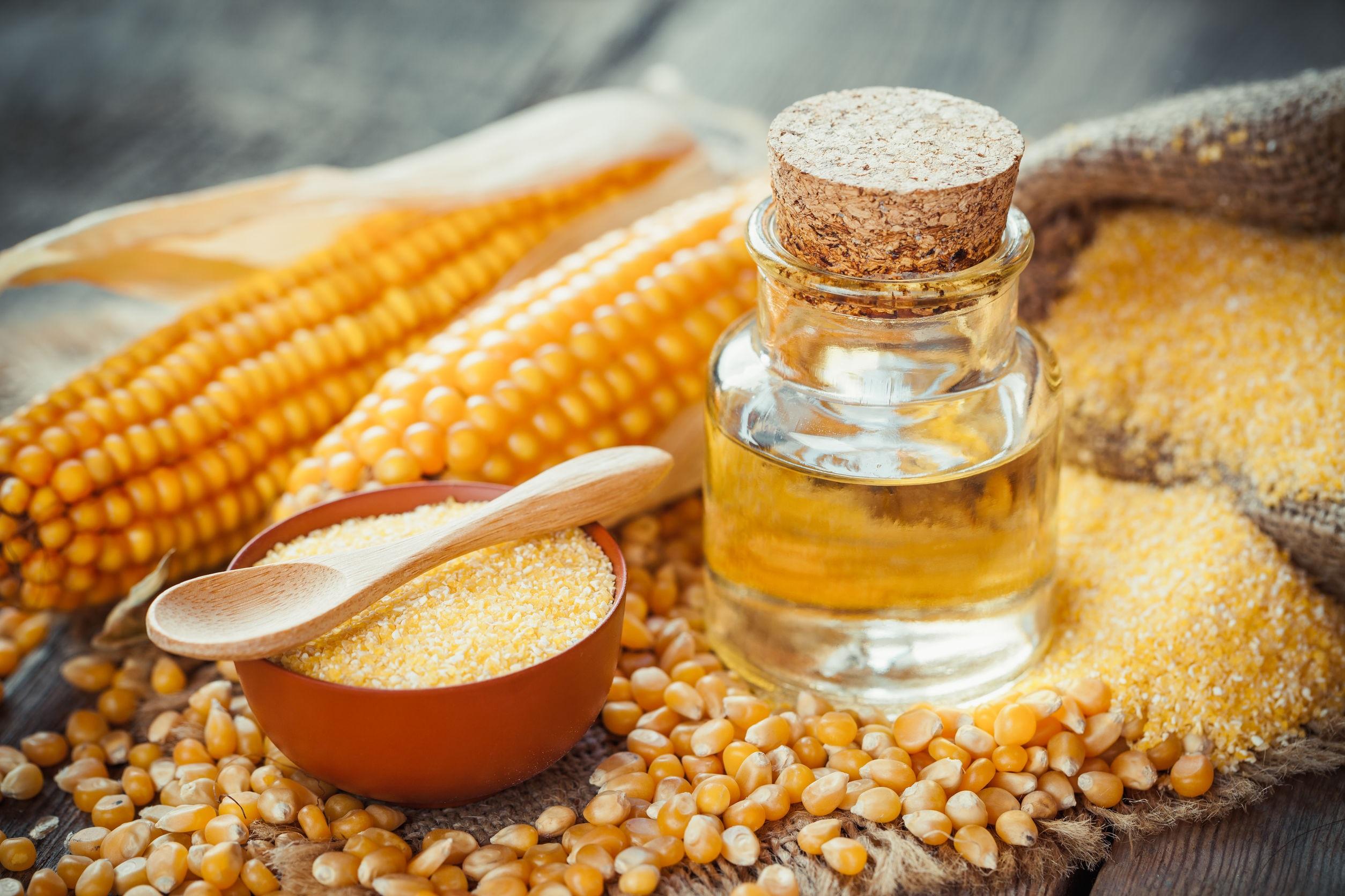 Olej kukurydziany tłoczony na zimno