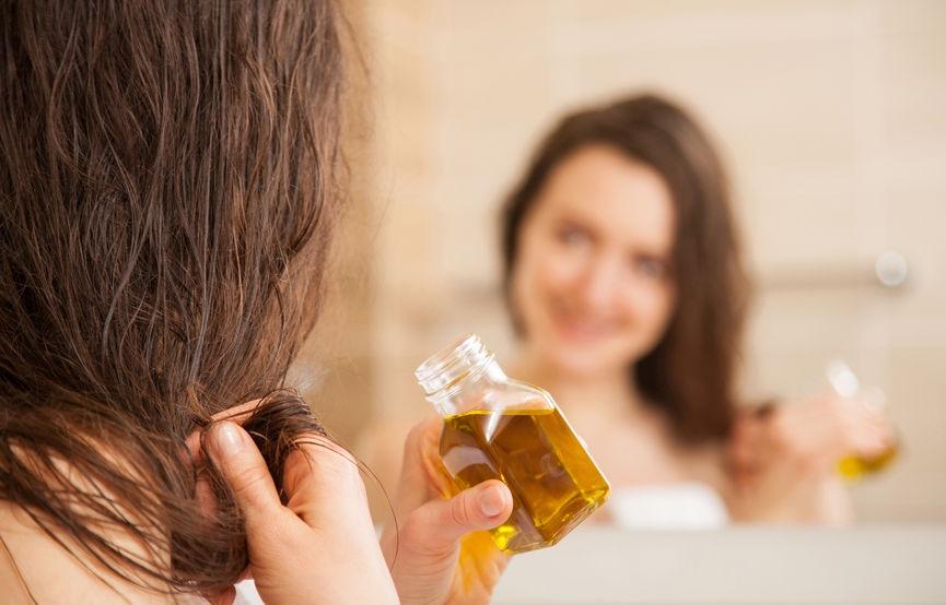 Olej na włosy