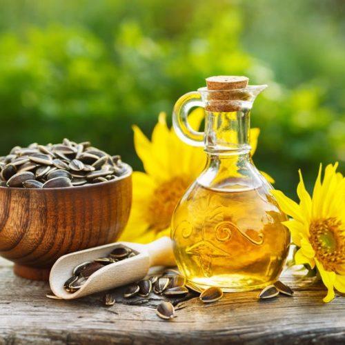 Olej słonecznikowy – Właściwości i zastosowanie oleju z ziaren słonecznika