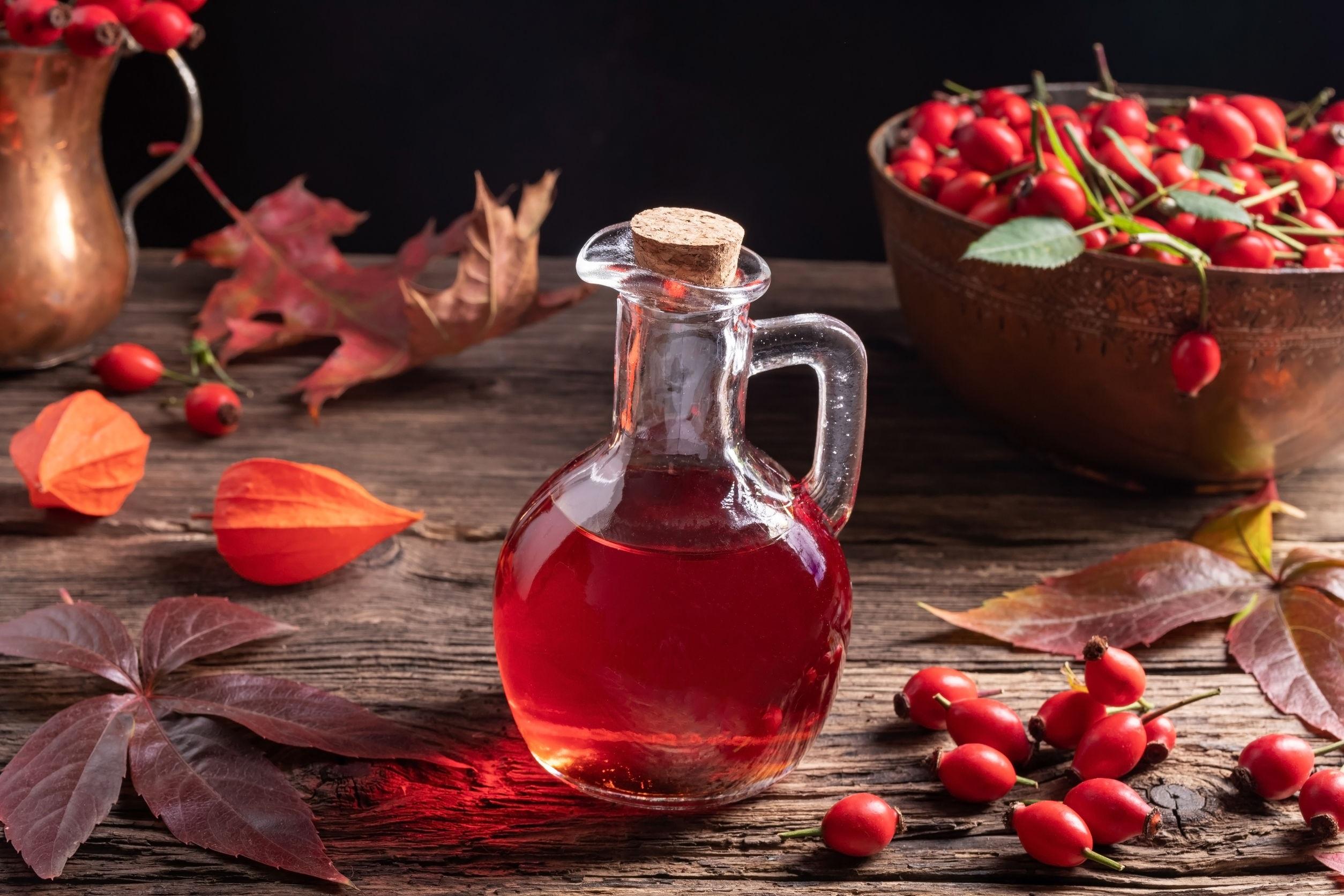 Olej z dzikiej róży do picia
