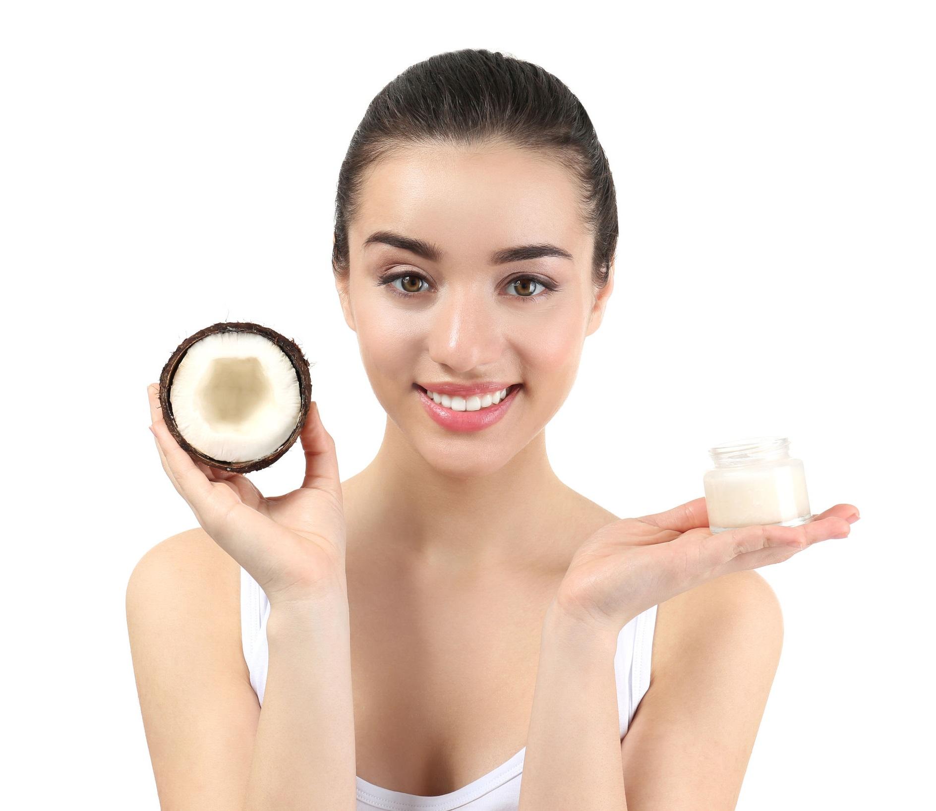 olej kokosowy białe zęby