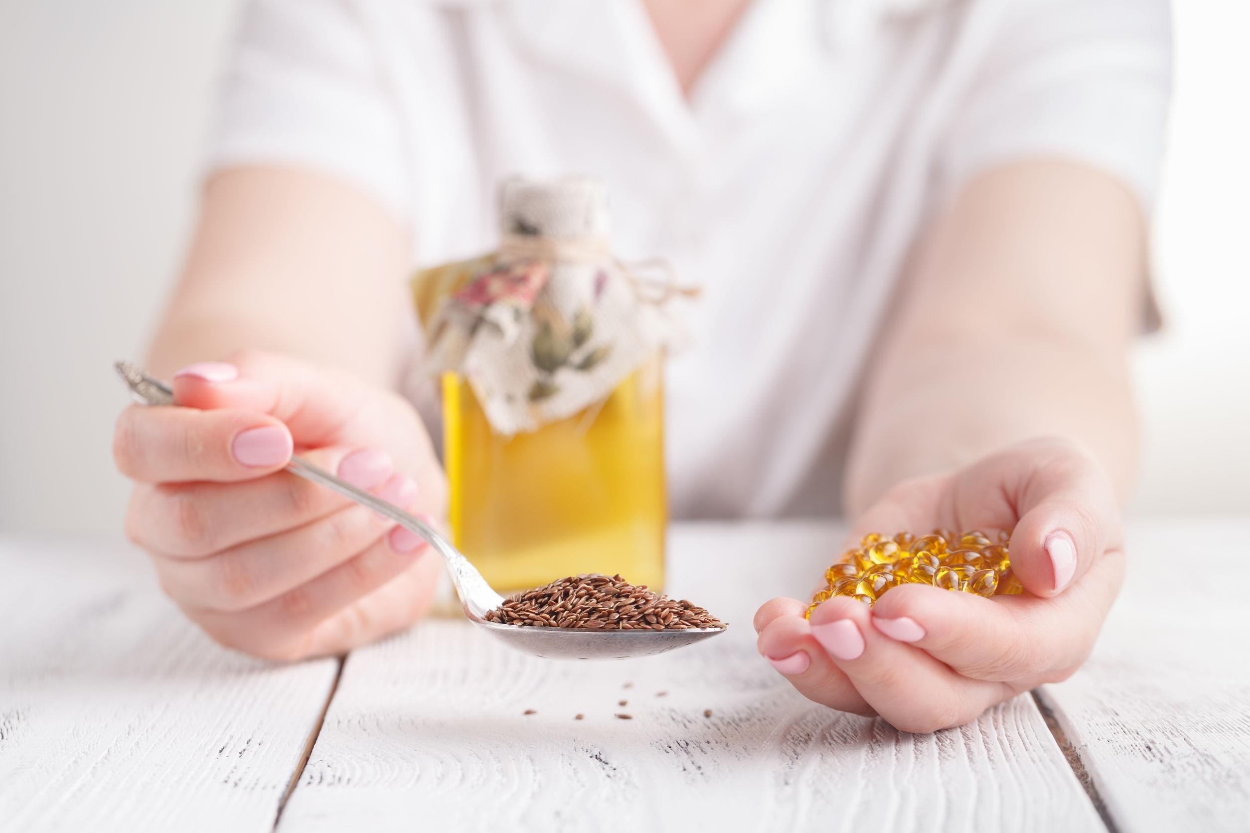 olej lniany - odchudzanie