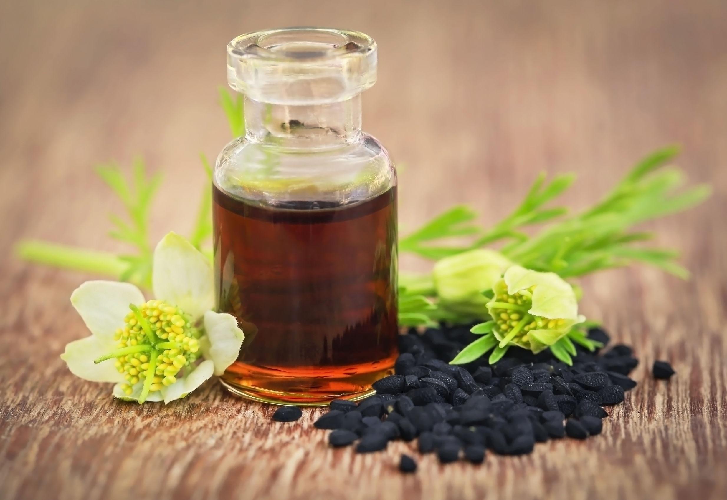 olej z czarnuszki alergia